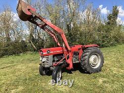 Massey Ferguson 165 Tractor Loader