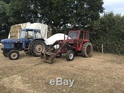 Massey Ferguson 165 Tractor, original working classic, barn find, on farm from new