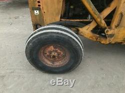 Massey Ferguson 165 loader tractor with rear forklift £3750