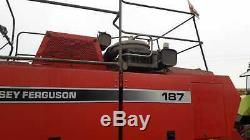 Massey Ferguson 187 square baler(4x3)