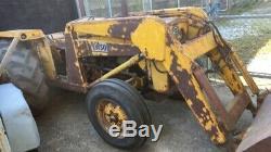 Massey Ferguson 203 industrial loader tractor like 135