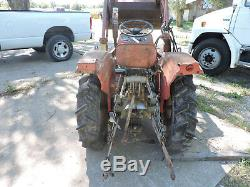 Massey Ferguson 205-4 garden tractor parts. Selling parts off this running unit