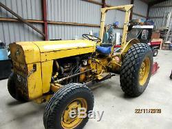 Massey Ferguson 205 Industrial Vintage Tractor