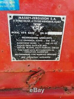 Massey Ferguson 20.8 Conventional Baler