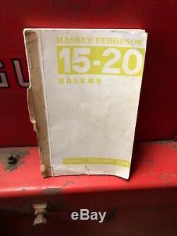 Massey Ferguson 20 Baler