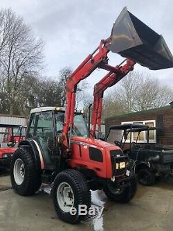 Massey Ferguson 2220 Manual Compact Utility Loader Tractor 4x4 Y 2000 Hours 1312