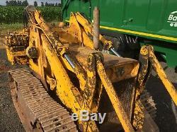 Massey Ferguson 244 Drott Crawler Loader Tractor