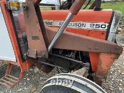 Massey Ferguson 250 Loader Bucket Muck Fork