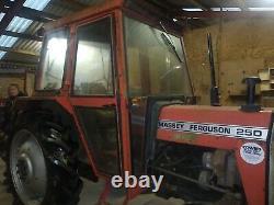 Massey Ferguson 250 Tractor NO VAT 35 135