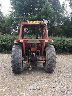 Massey Ferguson 265 +MF 880 loader off local farm Low hours 290 390 MF 265 4wd