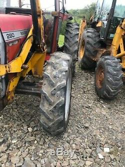 Massey Ferguson 290 tractor MF Massey massey ferguson MF 390t 290 290 mf 390