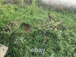 Massey Ferguson 2x Ploughs Plough 3 Furrow Potato Ridger Single original vintage