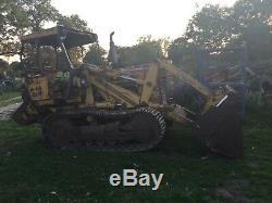 Massey Ferguson 300 track loading shovel £4450