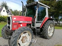 Massey Ferguson 3070 4WD tractor, 1990