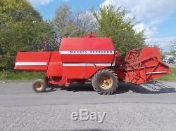 Massey Ferguson 307 combined combine harvester tractor