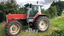 Massey Ferguson 3085 Datatronic 4wd Tractor, Farm, Export