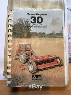 Massey Ferguson 30 3m Seed Drill NO VAT