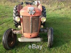Massey Ferguson 30 tractor 1964 130 35 135