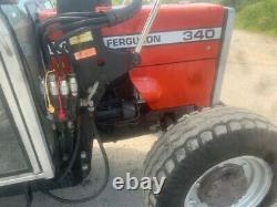 Massey Ferguson 340 loader tractor