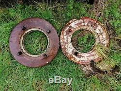 Massey Ferguson 35 135 165 tractor wheel weights old vintage classic