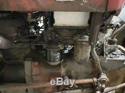 Massey Ferguson 35 3 Cyl 1962 V5 Diff Lock Original Condition Recent Service