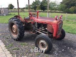 Massey Ferguson 35 3 Cylinder Diesel Original Tractor