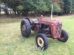 Massey Ferguson 35 3 Cylinder Diesel Tractor