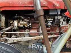Massey Ferguson 35 3 Cylinder Road Registered Lovely Patina