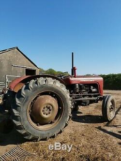 Massey Ferguson 35 3cyl with loader and link box