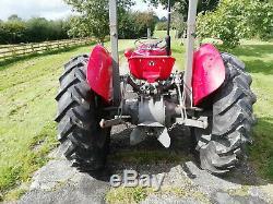 Massey Ferguson 35 4 cylinder vintage tractor 23c engine 1958 road reg V5