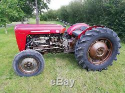 Massey Ferguson 35 (835) 4 cylinder vintage tractor good starter and runner
