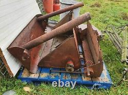 Massey Ferguson 35 Front Loader complete with bucket, fork and bale lifter