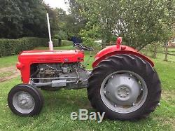 Massey Ferguson 35 (Nut & Bolt Restored) Read Description