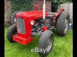 Massey Ferguson 35, Three cylinder and runs like a new one, 1961