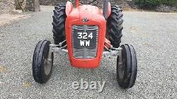 Massey Ferguson 35 Tractor, 1960, Perkins 3 Cylinder Diesel, V5c, Restored