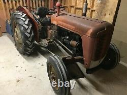 Massey Ferguson 35 Tractor 3 Cylinder Plus Flail & Other Implements