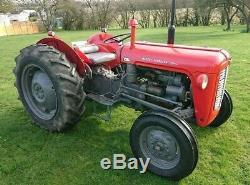 Massey Ferguson 35 Tractor, 3 cyclinder, 1960