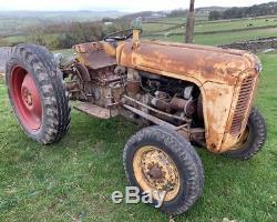 Massey Ferguson 35 Tractor Barn Find