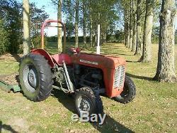 Massey Ferguson 35 Tractor Diesel 3 Cylinder Engine With Major 6 Feet Topper