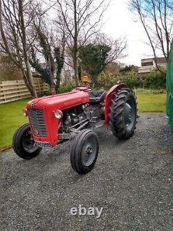 Massey Ferguson 35 Vintage Classic tractor rare TVO with V5 1964