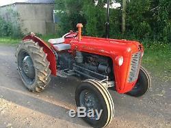Massey Ferguson 35 X Tractor. Diesel. 3 Cylinder