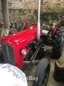 Massey Ferguson 35 tractor (3 cylinder)