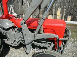 Massey Ferguson 35 tractor & Loader New Head with 4 Heater Plugs