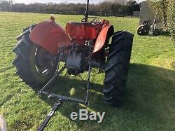 Massey Ferguson 35 tractor diesel 3 cylinder