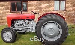 Massey Ferguson 35 vintage diesel 1956