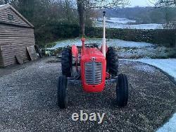Massey Ferguson 35x Tractor. No Vat