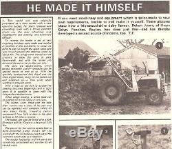 Massey Ferguson 35x Tractor Rare Shawny Loader Restoration 3 Cylinder Diff Lock