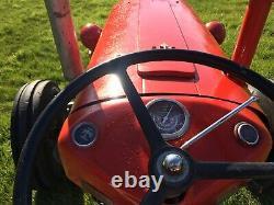 Massey Ferguson 35x tractor and Paddock Topper