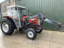 Massey Ferguson 365 2wd Tractor Cw Quickie Loader