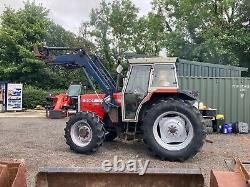 Massey Ferguson 390 T tractor